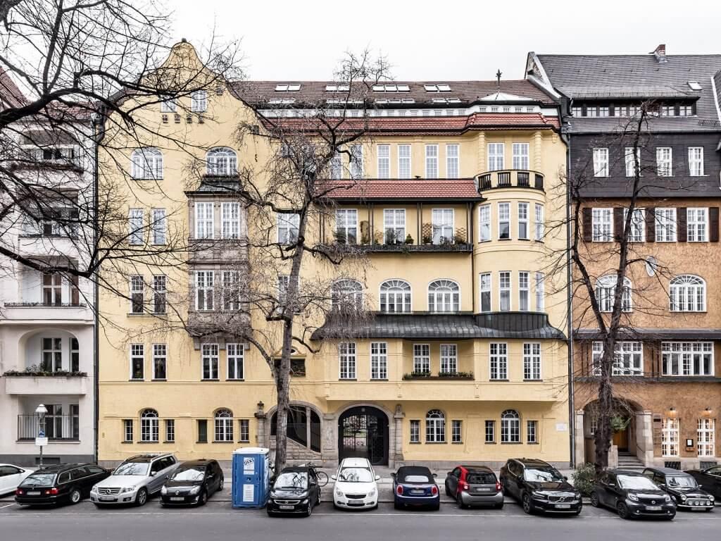 DEU, Deutschland, Berlin, 21.01.2021, Immobilienobjekt: Mommsenstr. 6, 10629 Berlin [Photography: © michel-koczy.com, info@michel-koczy.com, tel.+49 171 8323257]